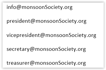 Email address for Board